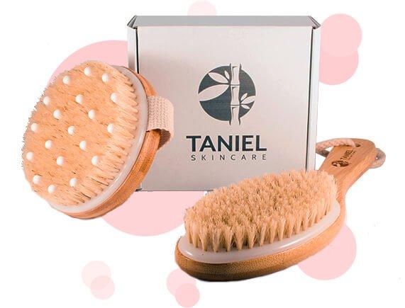 Duurzaam dry brushing Taniel